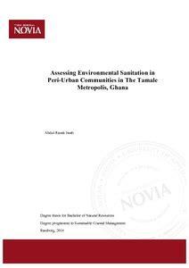 Environmental management dissertation proposal
